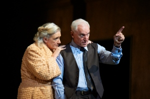 Caroline McKenzie as Linda and John Stanton as Willy in Death of a Salesman. Photo by Gary Marsh.