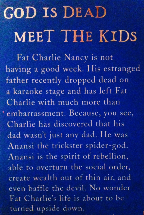 Anansi Gods - blurb