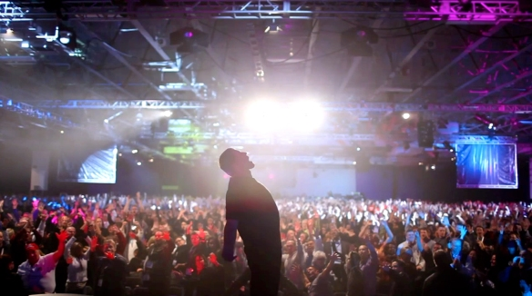 Tony Robbins: I am Not Your Guru. Photo credit: Courtesy of Third Eye Motion Picture Company/Netflix