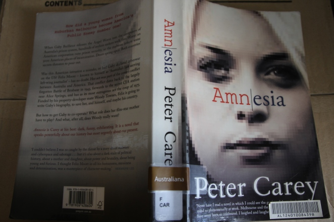 Peter Carey's Amnesia