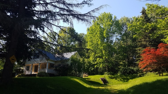 The idyllic Catskills.