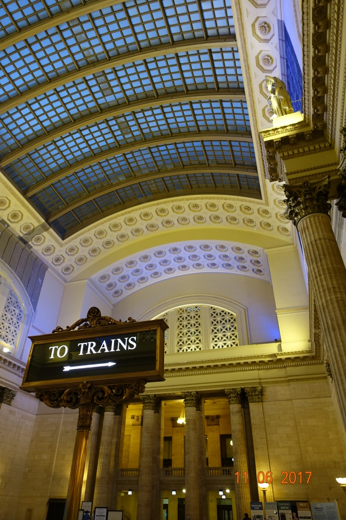 Sturdy, this area of Union Station is called the Great Hall!