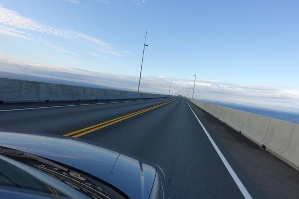 Confederation Bridge is a long-arse bridge.