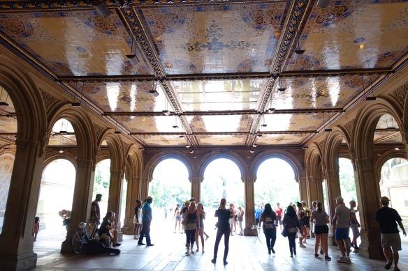 Central Park's Bethesda Terrace