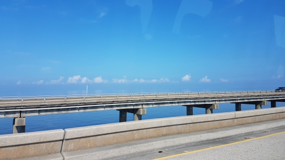 The vast and shallow Lake Pontchartrain is actually an estuary