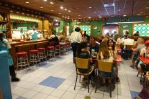 Inside Moe's!