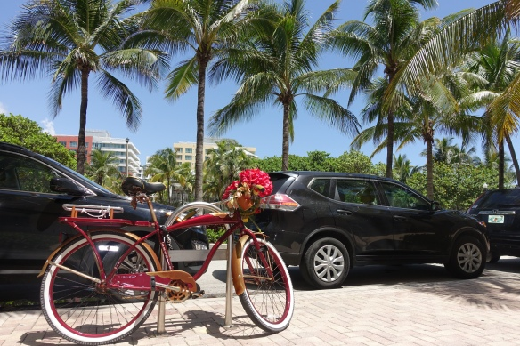This is Miami. Even your bike has to look good.