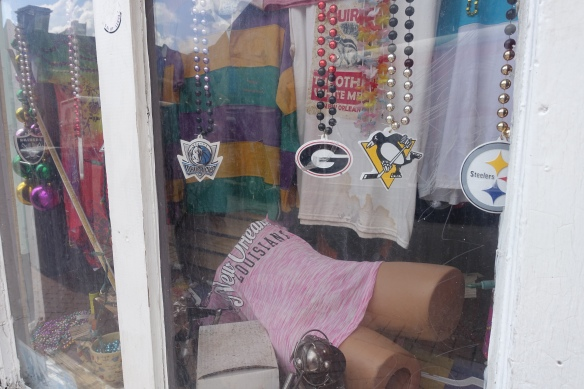 Only in NOLA are even the mannequins falling-down drunk