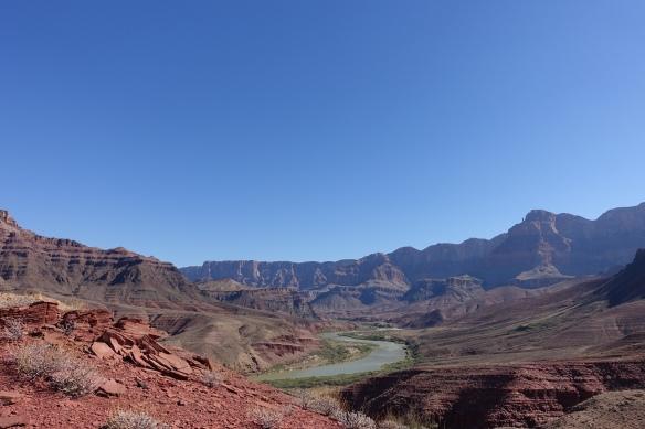 On a side-hike up the canyon